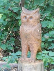 wooden-owl