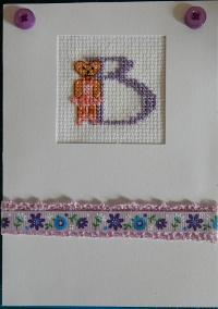 ballet bear card