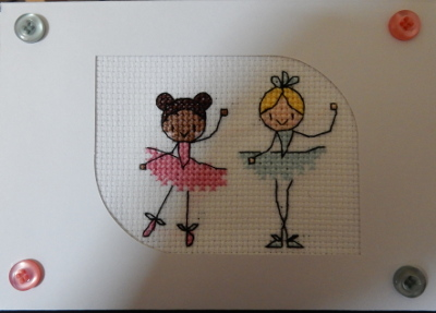 ballet girls card