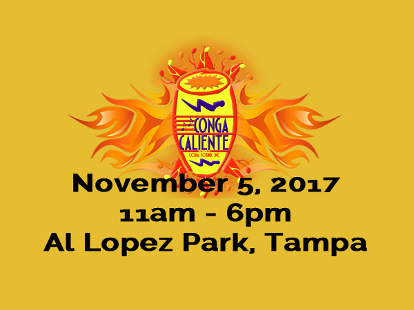 14th Annual Conga Caliente Returns November 5th 2017!
