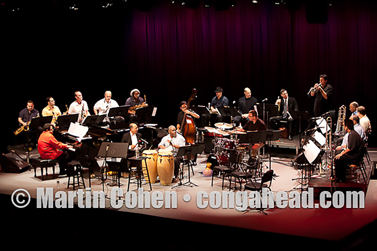 Arturo O'Farrill Afro Latin Jazz Orchestra at Symphony Space