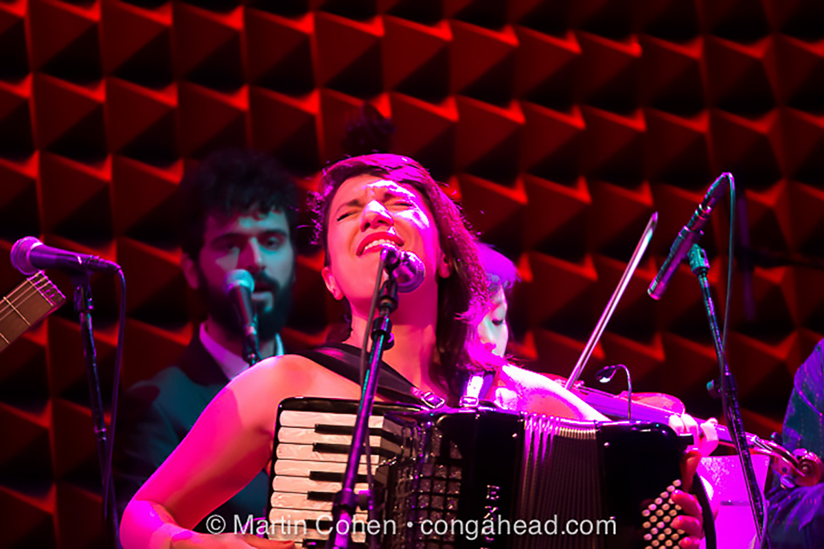 Banda Magda CD Release at Joe's Pub.  May 24, 2013
