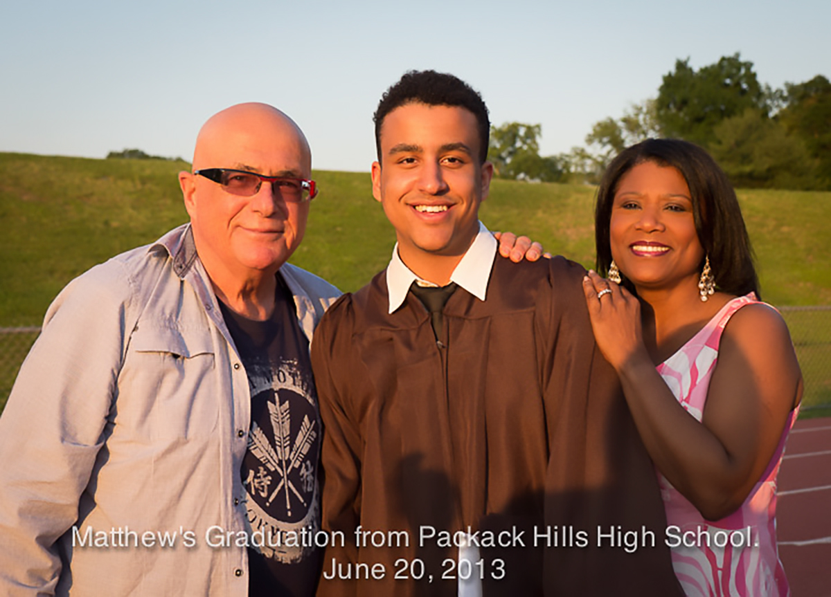 Matthew's Graduation from Pascack Hills High School.  June 20, 2013.