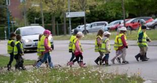 Một buổi dã ngoại của các trẻ em Thuỵ Điển