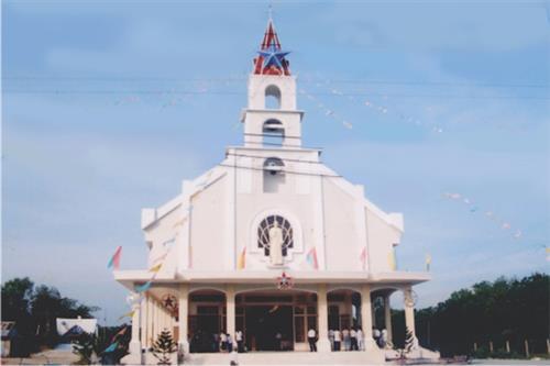 Xứ đạo bìa rừng - Giáo xứ Minh Thạnh (GP Phú Cường)