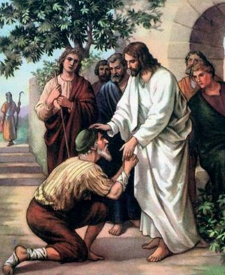 Chúa Giêsu chạnh lòng thương chữa lành và tha thứ