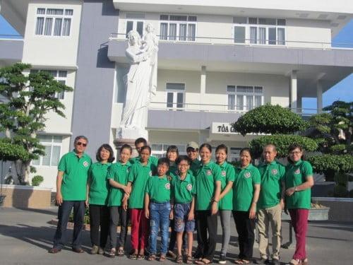 Caritas Phan Thiết Và Caritas Vĩnh Long Tổ  Chức Chương Trình Giao Lưu  Đối Với Người Có H