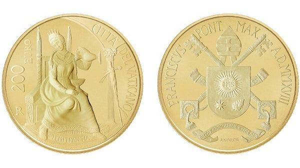 Tiền xu và tem về Đức Phaolô VI và cha thánh Piô 2