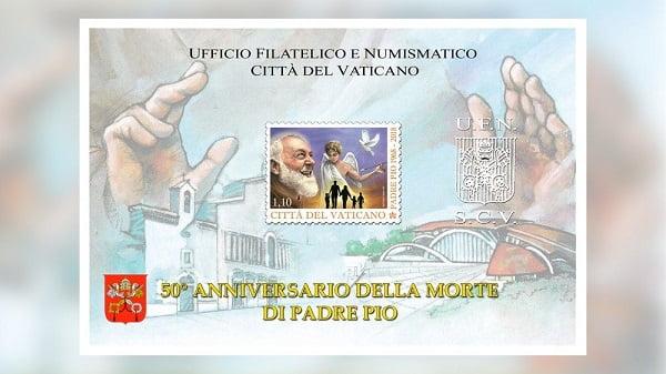 Tiền xu và tem về Đức Phaolô VI và cha thánh Piô 4