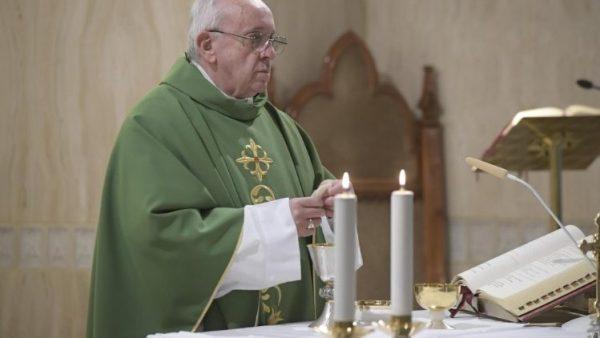Đức Thánh Cha: Thiên Chúa thương xót nhưng cũng nổi lôi đình