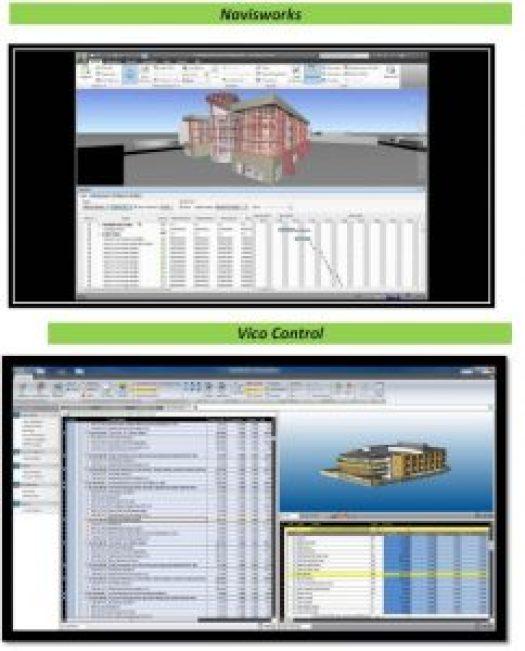 so sánh 5 phần mềm BIM 4D cực khủng