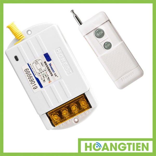 Công tắc điều khiển từ xa công suất lớn 40A 1Km Honest HT-6220KG