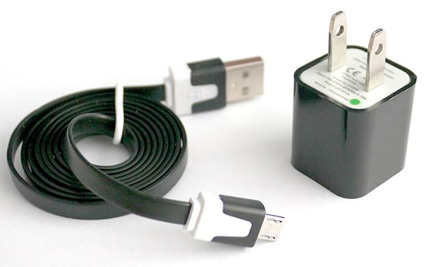 Củ sạc và dây cáp micro USB 5V/1A