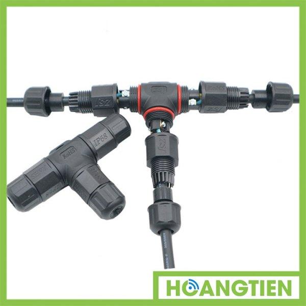 Cút nối dây điện chữ T chống nước IP67 ST20