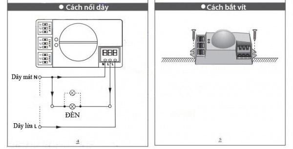 Công tắc cảm biến radar vi sóng TCZ9800