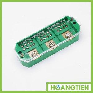 Cầu đấu chia dây điện 3 pha 1 ra 4 FJ6-2H