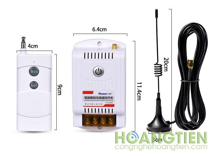 Công tắc điều khiển từ xa 2Km Honest HT-9220KB