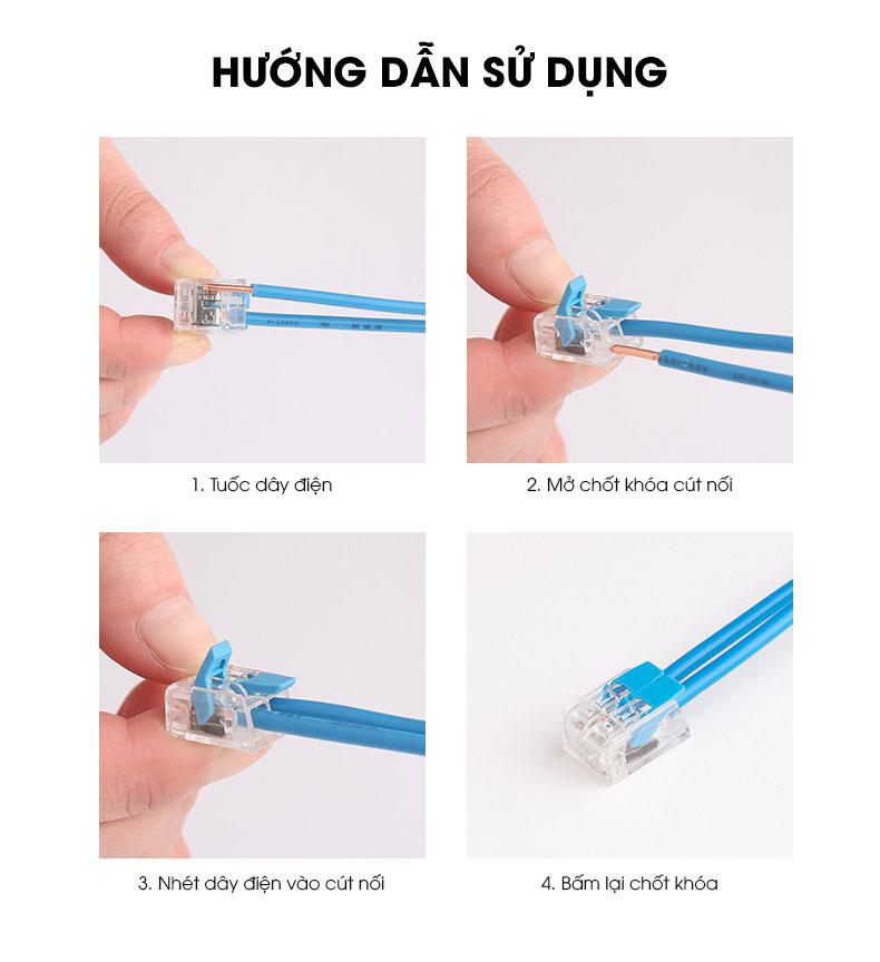 Cút nối dây điện PCT-412