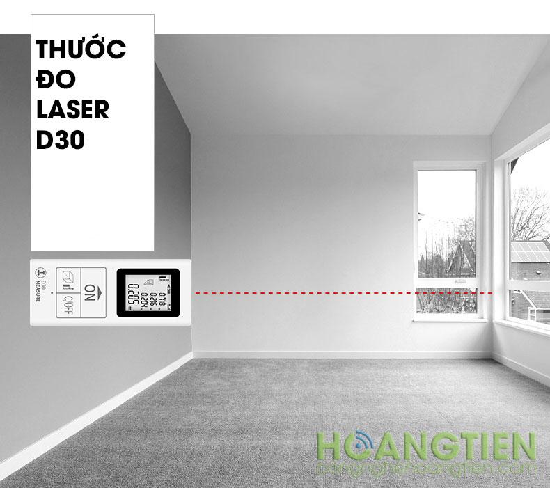Máy đo khoảng cách laser 25m D30-25