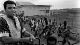 Ali in the streets of Kinshasa