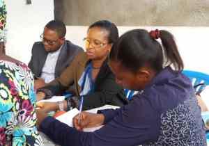 Meeting FCC au stade Tata Raphael: Sylvie Omari Pemba mobilise sa base de Ngaliema