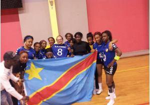 23ᵉ CAN Handball(F)/Brazza 2018 : belle entame de la RDC devant le Maroc !