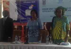 Campagne électorale : les candidates aux législatives formées sur le mode de communication