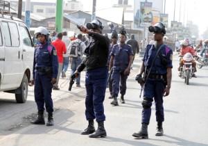 RDC/Beni: la police empêche le meeting des étudiants, 4 manifestants dont le président interpellés !