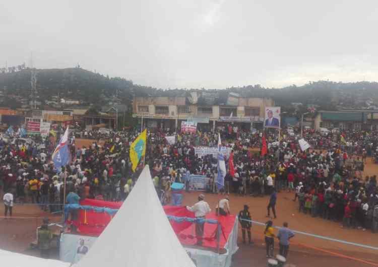 Présidentielle 2018: Fayulu attaque par Beni, forte mobilisation dans la ville