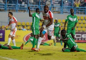 CAF-C2: Zamalek bat Coton Tchad 7-0, Kabongo Kasongo signe un doublé !