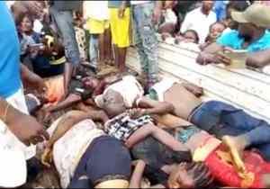 Noël noire à Kisantu: près de 30 morts et une vingtaine de blessés dans un accident de circulation