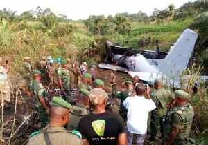 RDC/Beni: crash d'avion à l'aéroport de Mavivi, plusieurs blessés graves