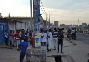 """RDC/Kinshasa : """"guerre"""" des gangs et coups de feu à Matete, la délégation d'un ministre assiégée !"""
