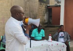 Législatives nationales: le n°79 Patrick Mukendi en parfaite communion avec sa base de Ngiri-Ngiri
