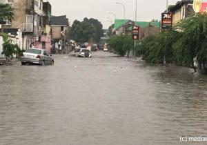 RDC/Elections: Comme en 2006 et 2011, la pluie s'invite le jour du vote à Kinshasa