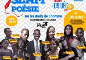 Slam Poésie sur les droits de l'homme: la finale ce dimanche 9 décembre à Texaf Bilembo