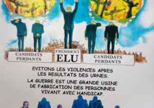 """RDC: """"Handicap zéro"""" dit NON aux violences électorales"""