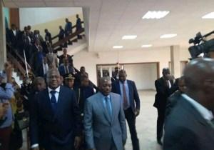 RDC: la remise et reprise dans une ambiance bon enfant entre F. Tshisekedi et J. Kabila ce vendredi