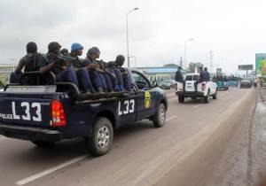 RDC/Elections 2018: La publication des résultats se précise: déploiement des policiers et du car de reportage à la CENI