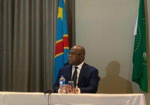 """F. Tshisekedi face aux  Congolais de Namibie: """"Je n'accepterai d'être  un président qui règne, mais qui ne gouverne pas"""""""