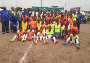 FECOFA : Trois terrains de proximité inaugurés à Kinshasa !