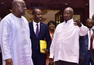 Felix Tshisekedi à Kampala: Coopération bilatérale et lutte contre les groupes armés.