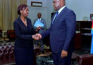 RDC: Louise Mushikiwabo, SG de la francophonie, déjà à Kinshasa