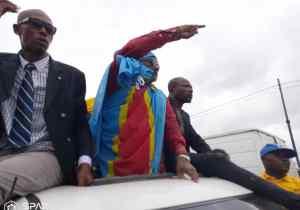 RDC: sortie triomphale ce samedi de Franck Diongo de la prison centrale de Makala