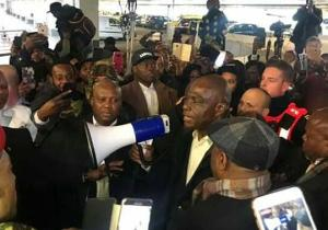 RDC: Martin Fayulu chaleureusement accueilli ce samedi matin à Bruxelles