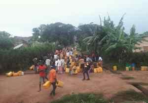 RDC/Mwene-Ditu : après deux semaines de pénuries, l'eau coule enfin des robinets !