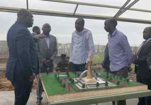 RDC: le Chef de l'État visite les travaux de construction du mausolée d'Étienne Tshisekedi