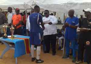 "LINAFJ 10è festival: ""Kiesse Academy Football"" champion"