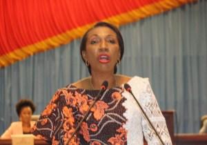 RDC: Jeanine Mabunda élue à la tête du bureau définitif de l'Assemblée nationale
