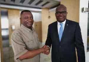 RDC: Guy Mafuta et Ngoyi Kasanji main dans la main pour promouvoir le football national